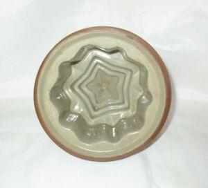 Antique JELLY MOULD Blancmange Layered STAR SHAPE Dessert Vintage Tea Party Time