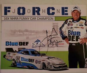 2021 NEW Autograph Picture NHRA John Force PEAK