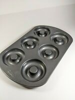 Wilton Nonstick 6-Cavity Donut Pan Durable Nonstick