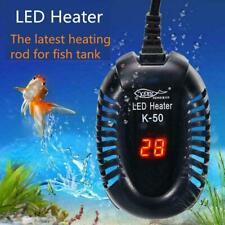 25-100W LED Aquarium Digital Heater Fish Tank Submersible Adjustable Thermo M3S6