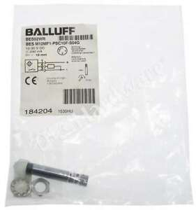 New Sealed Balluff BESM12MF1-PSC10F-S04G Inductive Standard Sensor 10-30V DC
