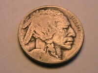 1916-P Buffalo Nickel Very Good (VG) Original Grey Indian Head 5 Cent USA Coin