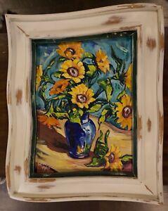 """Sunflower"" Steve Barton Painting"