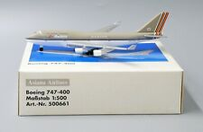 Asiana Airlines B747-48ESCD Herpa Scale 1:500 Diecast model 500661