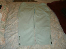 Lee Shapetastic ladies aqua jeans size 20 W medium