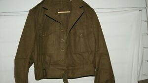 BRITISH ARMY POST WWII WW2 BATTLE DRESS JACKET BRAND NEW UNISSUED 1956 DATED