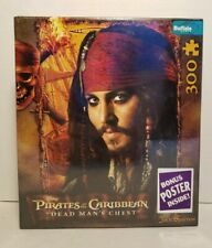 Pirates of the Caribbean Dead Mans Chest 300 Piece Puzzle Poster Johnny Depp W