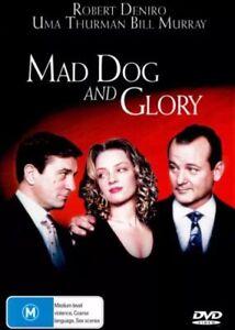 MAD DOG AND GLORY (1993) DVD - Robert De Niro, Uma Thurman, Bill Murray - REG 4