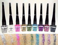 Italia Deluxe Glitter Eyeliners - All 9 Colors! Shine & Glitter~ US SELLER!!