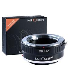 K&F Concept MD-NEX Objektiv Adapter fr Minolta MD Objektiv auf Sony NEX E Kamera