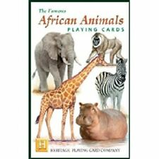 Heritage Playing Cards - The Famous African Animals - NEW & SEALED