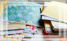 Konvolut 50 Bogen Scrapbookingpapier von diversen Herstellern NEU