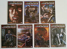Lot of 7 Extinction Parade comics complete #1-5 covers+ Avatar 2013 SEE SCANS
