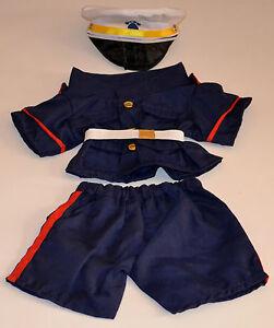 "Teddy Bear U.S. MARINES Dress Blues CLOTHES Fit 14""-18"" Build-a-bear !!NEW!!"