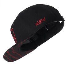 Nebelkind Unisex Snapback Cap Stacheldraht Kappe Schwarz One Size