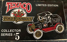 Texaco 1918 Ford Model T Runabout ERTL Limited Edition Coin Bank NEW #'d 1988