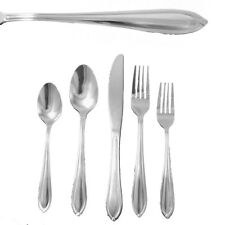 Essential Home Ginger New 20 Piece box Set Stainless  Classic Flatware