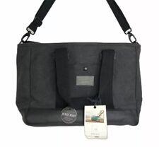 Hex Work Bag Jack Daniels Cattleman Jack Laptop Messenger Charcoal Gray NWT