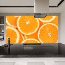 Tentures murales et tapis orange pour la décoration intérieure de la maison