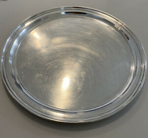 Tiffany & Co. Sterling Silver Serving Tray 12""