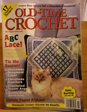APR037 OLD TIME CROCHET MAGAZINE, WINTER 2001
