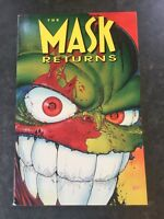 The Mask Returns by Arcudi, John Paperback , Scarce 1st Edition