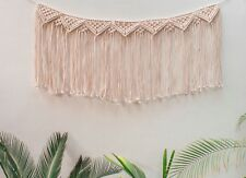 Handmade Macrame Wall Hanging Woven Wall Art Macrame Tapestry Boho Wall Decor Be