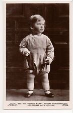 Vintage Postcard George Lascelles, 7th Earl of Harewood Son Princess Mary