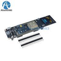 0.96 inch ESP32 WiFi Bluetooth Blue OLED 18650 Battery CP2012 Development Board