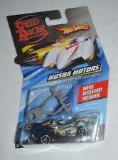 2007 HOT WHEELS SPEED RACER MUSHA MOTORS RACE CAR WITH SPEAR HOOKS