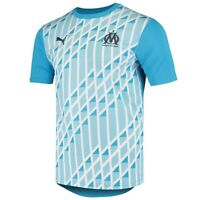 Puma France Ligue (Men's Size M) Olympique Marseille Stadium Soccer Jersey