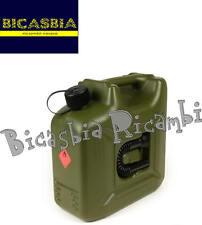 8504 - TANICA BENZINA 10 LITRI VERDE OLIVA VESPA 125 VM1T VM2T VN1T VN2T