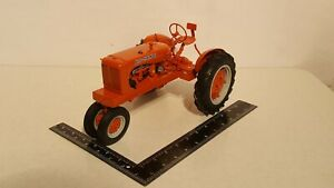 Allis Chalmers WC 1/12 scale metal farm tractor replica by Franklin Mint