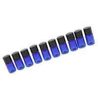 10 Pieces 5ml Essential Oil Small Jars Sample Vials Bottles Containers Blue