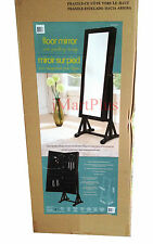 High Quality Floor Standing Mirror with Jewellery Storage New