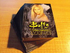 BUFFY SEASON 4 COMPLETE BASIC SET OF 90 CARDS
