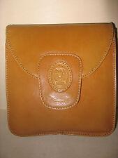 Braun Tasche Leder Vintage Crossover Cognac Ocker Beige Disser Bolso Boho Klein