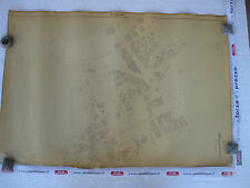 ROMA Mappa Catastale 546 PARIOLI Piazza Gastaldi Minzoni V. Bruno Buozzi 1943 c.