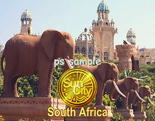 South Africa - SUN CITY - Travel Souvenir Fridge Magnet