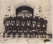 1925 WAUKESHA WISCONSIN CARROLL COLLEGE FOOTBALL TEAM PHOTO  (Fred McMurray)