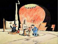 KRAZY KAT WITH DAISY MOUSE GEORGE HERRIMAN CARTOON COMIC ART PRINT POSTER HP390