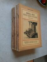 24 Machinery's Reference BookSeries Lot-  second and third editions early 1900's