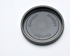 New Mamiya RB67 RZ67 Front Camera Body Cap Cover Medium Format Replacement Black