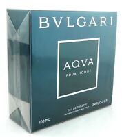 Bvlgari Aqva Pour Homme by Bvlgari 3.4 oz EDT Spray for Men Sealed Box