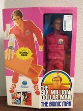 1977 Six Million Dollar Man Bionic Grip Kenner Action Figure New! Never Opened!