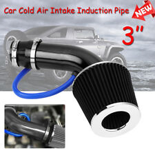 3'' Universal Car Cold Air Intake Filter Alumimum Induction Kit Pipe Hose System