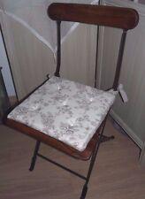 Coussin de chaise à motifs et vichy beige -Etoffe de Clayre- Clayre&Eef