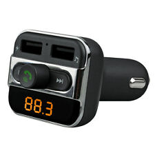 Black Wireless Bluetooth BT Car FM Transmitter MP3 Player To Transmit Phone Call