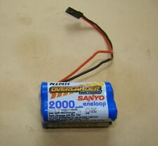 Overlander Sanyo 4.8V 2000 mah NiMH Flight Battery for Radio Control Models