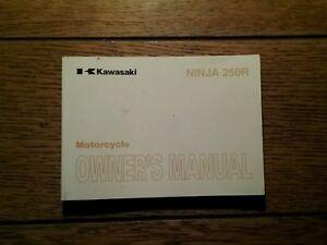 KAWASAKI EX250 K9 OWNERS  MANUAL/ HANDBOOK / BOOKLET